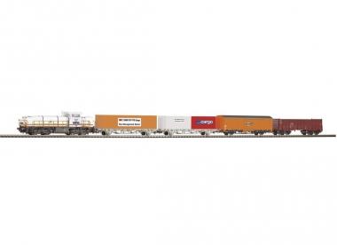 Piko 59110 Startset Diesellok Am843 SBB mit 4 Güterwagen H0 Fabrikneu