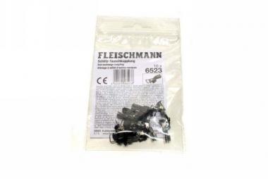 Fleischmann 6523 10x Schlitz Tauschkupplung Neuware