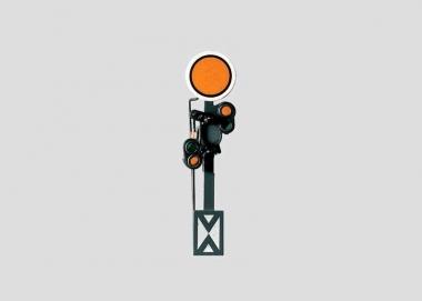 Märklin 7036 Vorsignal mit stellbarer Scheibe in H0 neu in Originalverpackung