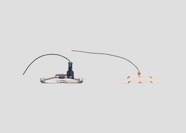 Märklin 73406 Stromzuführung asymmetrischem Schleifer Massefeder H0 Ersatzteil
