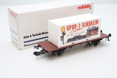 Märklin 80014 Museumswagen 1994 Auto und Technik Spur 1 in Originalverpackung