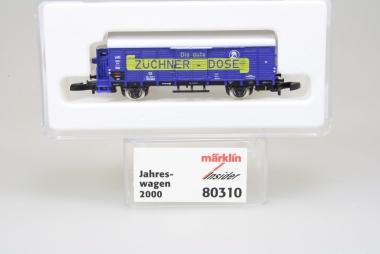 Märklin 80310 Miniclub Insider Jahreswagen 2002 unbespielt in Originalverpackung