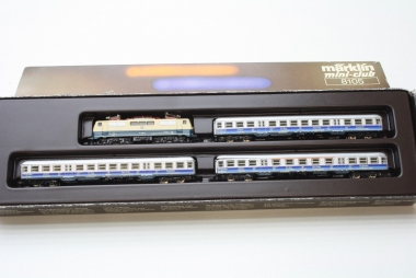 Märklin 8105 Miniclub Zugpackung Flughafenzug der DB Funktion geprüft