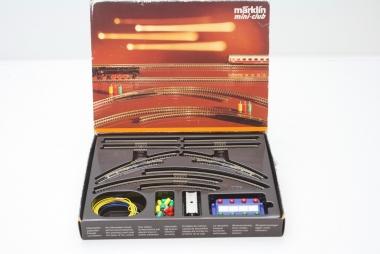 Märklin 8192 Miniclub Gleisset Set-T1 Gleise unbespielt in Originalverpackung
