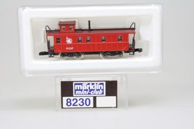 Märklin 8230 Miniclub Caboose der NJC unbespielt in Originalverpackung