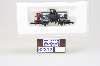 Märklin 82312 Miniclub Kesselwagen Mexphalt unbespielt in Originalverpackung