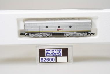 Märklin 82600 Miniclub Diesellok B-Unit Santa Fe Dummy unbespielt