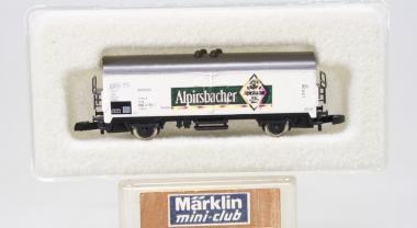 Märklin 8600 Miniclub Kühlwagen Alpirsbacher unbespielt in Originalverpackung