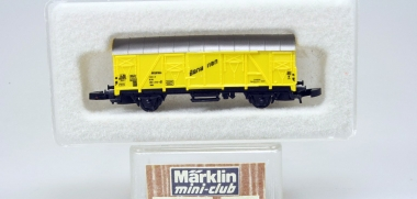 "Märklin 8606 Miniclub Refrigerated car ""Bananen"" Ibbis DB boxed"