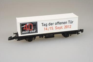 Märklin 86173 Miniclub Güterwagen Tag d.o.Tür 2012 unbespielt Originalverpackung