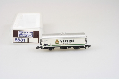 Märklin 8631 Miniclub Kühlwagen Veltins der DB in Originalverpackung
