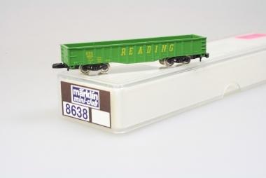 Märklin 8638 Miniclub offener Güterwagen READING unbespielt Originalverpackung