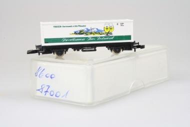 Märklin 87001 Miniclub Containerwagen Thier unbespielt Originalverpackung