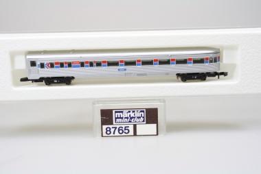 Märklin 8765 Miniclub Schlußwagen Amtrak unbespielt in Originalverpackung