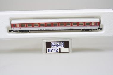 Märklin 8772 Miniclub IC Schnellzugwagen der DB unbespielt in Originalverpackung