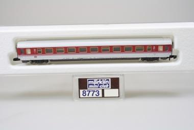 Märklin 8773 Miniclub IC Schnellzugwagen der DB unbespielt in Originalverpackung