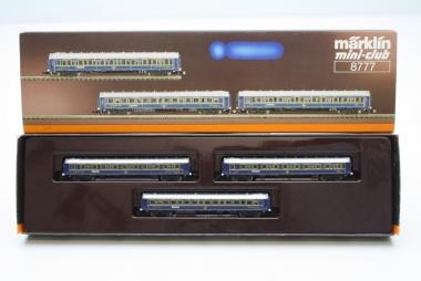 Märklin 8777 Miniclub Wagenset Orient Express unbespielt in Originalverpackung