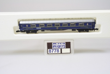 Märklin 8778 Miniclub Barwagen Orient Express unbespielt in Originalverpackung