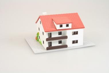 Märklin 8964 Miniclub Wohnhaus mit Garage in Z -gebaut-