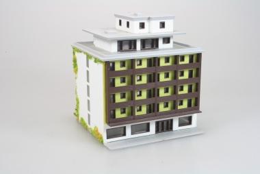 Märklin 8963 Miniclub Hochhaus in Z -gebaut-