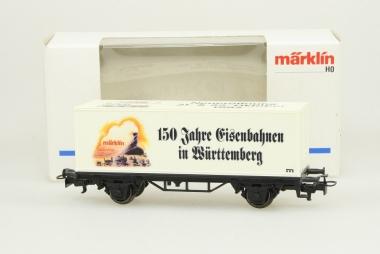 Märklin 95717 SOMO Containerwagen 150 Jahre Eisenbahnen in Württemberg Neuware