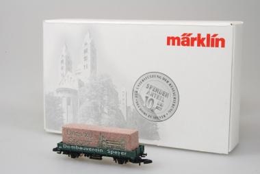 Märklin 88101 (96720) Präsentwagen Dom zu Speyer unbespielt Originalverpackung