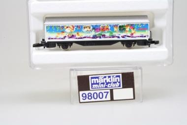 Märklin 98007 Miniclub Weihnachtswagen 1996 unbespielt in Originalverpackung
