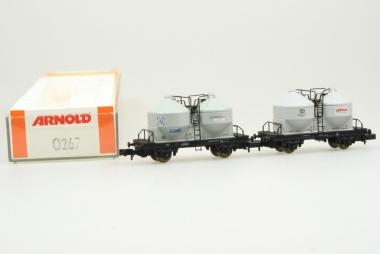 Arnold 0267 Staubwagen der DB in Originalverpackung