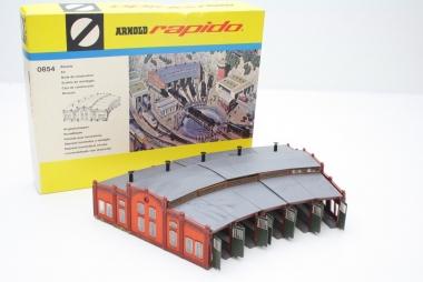Arnold 0854 6384 Ringlokschuppen Bausatz Spurweite N in Originalverpackung