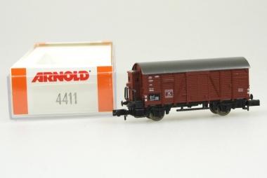 Arnold 4411 Gedeckter Güterwagen der DB neu in Originalverpackung