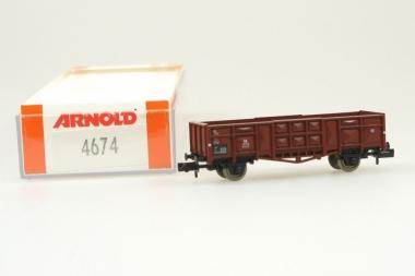 Arnold 4674 Hochbordwagen der DB neu in Originalverpackung