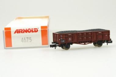 Arnold 4675 Hochbordwagen der DB in Originalverpackung