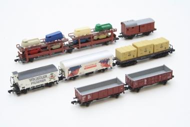 Arnold interessante Sammlung Güterwagen der DB Spur N