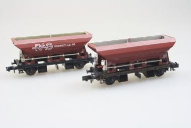 Arnold 4481 und  4486 2x Selbstentladewagen Spur N