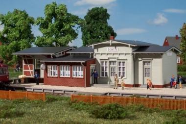 Auhagen 11448 Bahnhof Deinste in H0 Bausatz