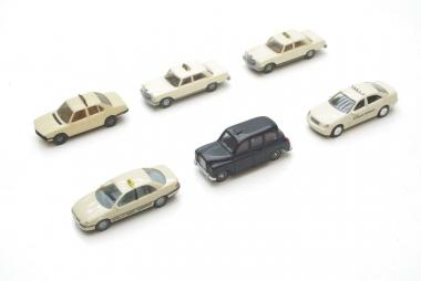 Wiking Herpa etc. interessante Sammlung PKWs Taxi Spur H0