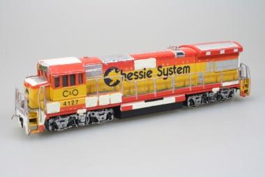 Bachmann 41-640-09 US Diesellok GE U36 B der C&O in H0 Funktion geprüft