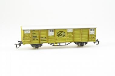 Berliner TT Bahnen 4152 gedeckter Güterwagen ASG Top Zustand