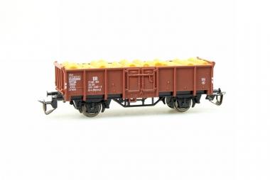 Berliner TT Bahnen 4244 offener Güterwagen mit Holzladung in Originalverpackung