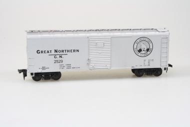 Bowser English's Model RR 3-1018 40' Boxcar Great Northern Glacier National Park