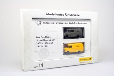 Brekina 006244 Serie 14 Opel Blitz H0 / 1:87 in Originalverpackung