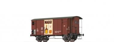 Brawa 47874 gedeckter Güterwagen K2 Maggi der SBB in H0 AC Achsen Fabrikneu