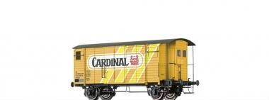 Brawa 47876 gedeckter Güterwagen K2 Cardinal der SBB in H0 AC Achsen Fabrikneu