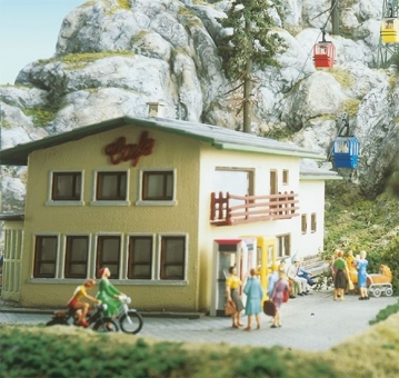 Brawa 6290 Kanzelwandbahn Gebäudesatz Berg- und Talstation H0 Bausatz Fabrikneu