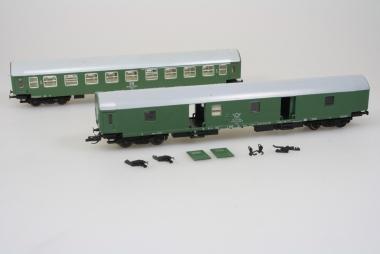 Berliner TT Bahnen BTTB 2x Personenwagen Sammlung schöner Zustand