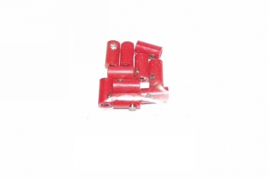Märklin/Brawa 10x Muffen rot guter Zustand