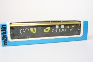 Märklin Cats Ausstellungswagen in Originalverpackung