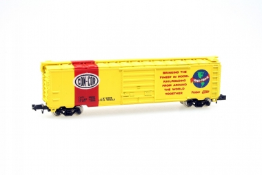 Con-Cor 1452C 50' Panel DR Box Car CCN-CCR Anniv. Spur N in Originalverpackung