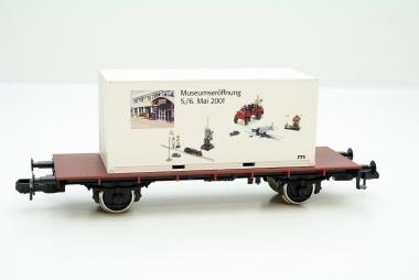 Märklin Containerwagen Museumseröffnung 2001 Spur 1 in Originalverpackung