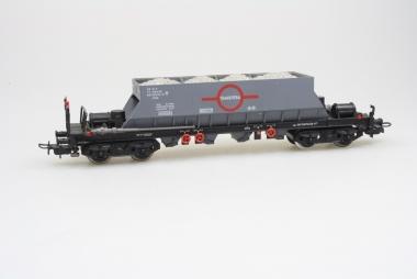 Electrotren 5200 Schüttguttransportwagen Uas 0970078-6 der Renfe mit AC Achsen